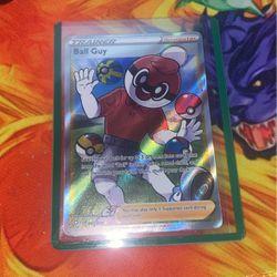 Pokemon Shining Fates Ball Guy Full Art Thumbnail