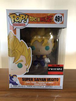 Super Saiyan Vegito Funko POP: 491 Thumbnail