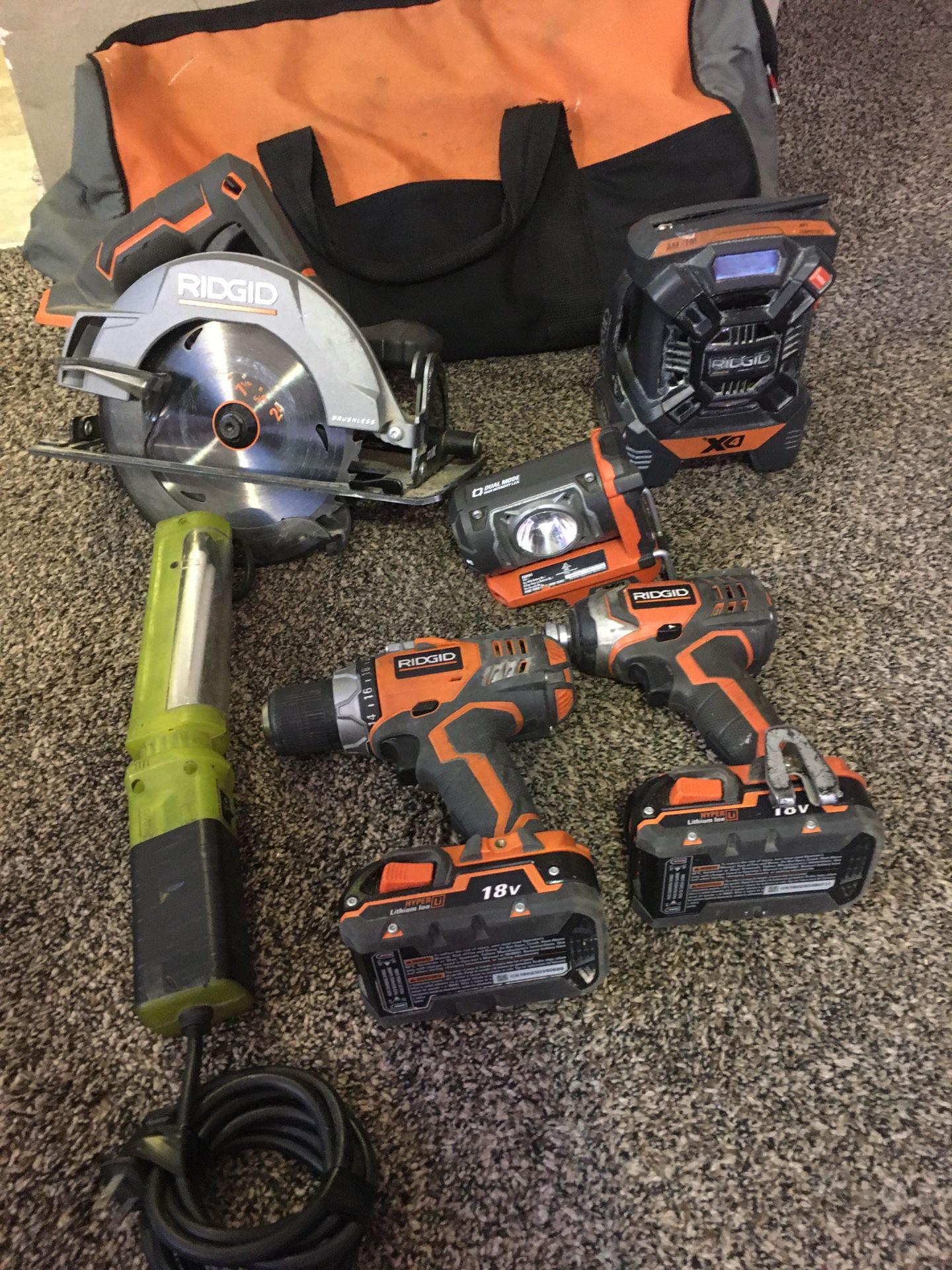 Rigid power tools