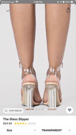 Transparent Block heels Thumbnail