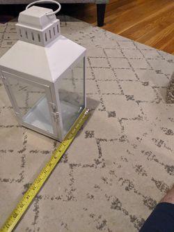 15 Inch By 6.5 Lantern Glass Sides Latch Dopr Thumbnail