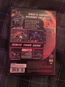 Ps2 nfl football blitz Lot Thumbnail