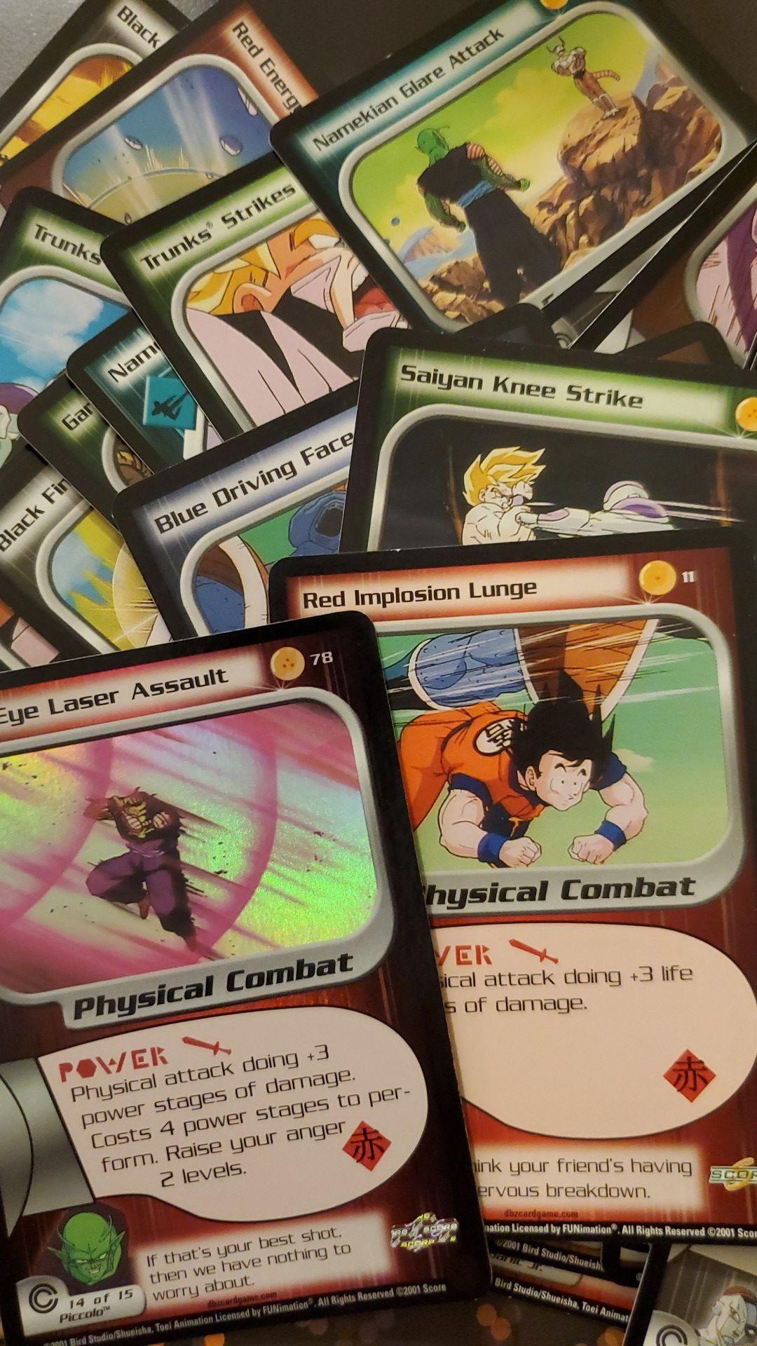 OLD Dragonball Z cards-