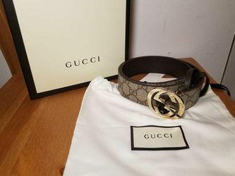 Gucci Supreme Brown Belt  Thumbnail