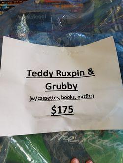 Teddy Ruxpin & Grubby Dolls Thumbnail