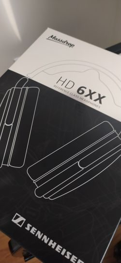 Sennheiser HD 6XX Headphone And Amp Thumbnail