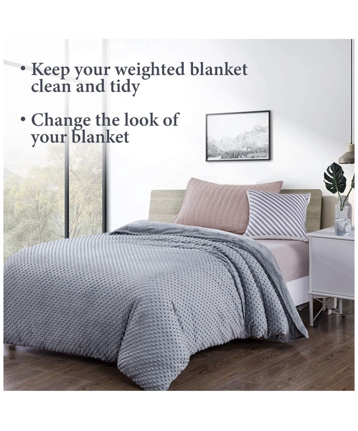 Duvet Cover for Weighted Blankets
