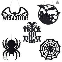 5 Pieces Halloween decorations,Halloween Hanging Decorations  Thumbnail