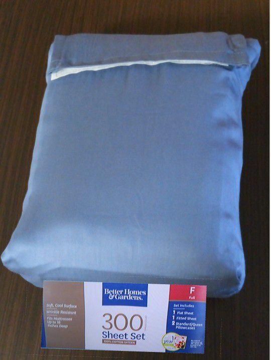Full size Cotton Sheet Set