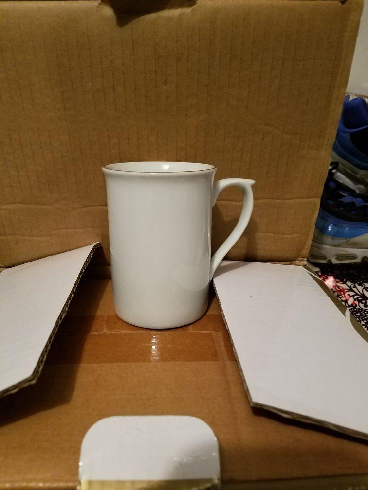 Gibson coffee cups.