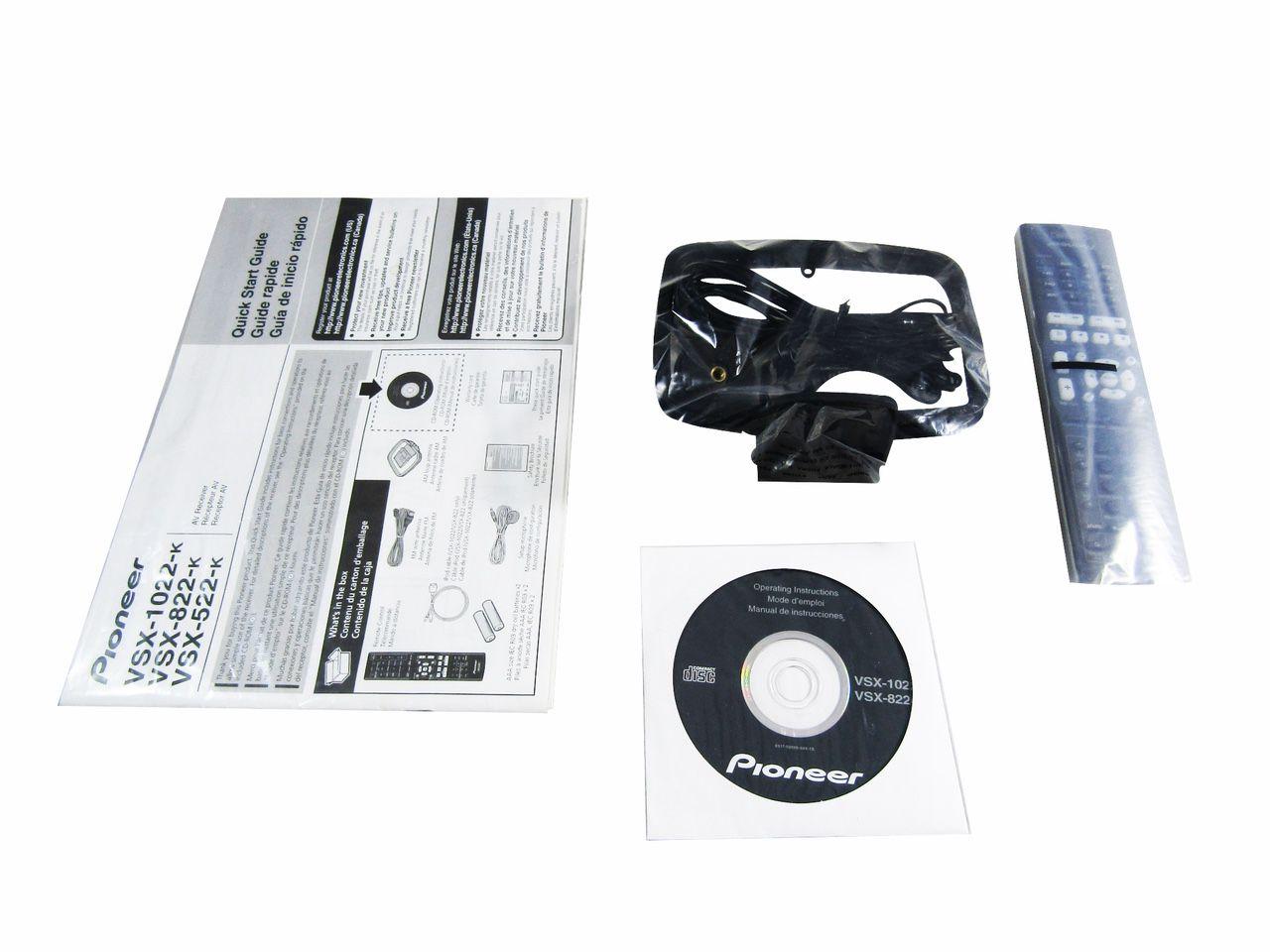 Pioneer VSX-822-K 5.1-Channel Network Ready A/V Receiver LN