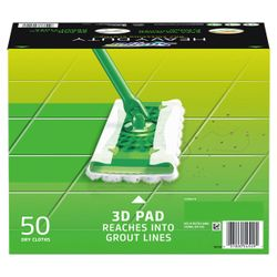 Swiffer Sweeper Heavy Duty Dry Sweeping Cloths (50 Count) Thumbnail