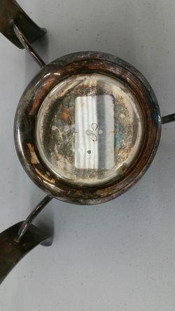 Silverplated Chafing Dish Holder Warmer Thumbnail