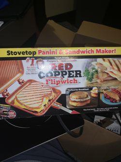Counter Top Burner Plus Sandwich Pan And Frying Pan Thumbnail