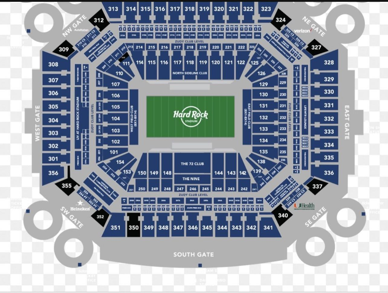 Miami Dolphins 4 Tickets $40each  With Free Parking