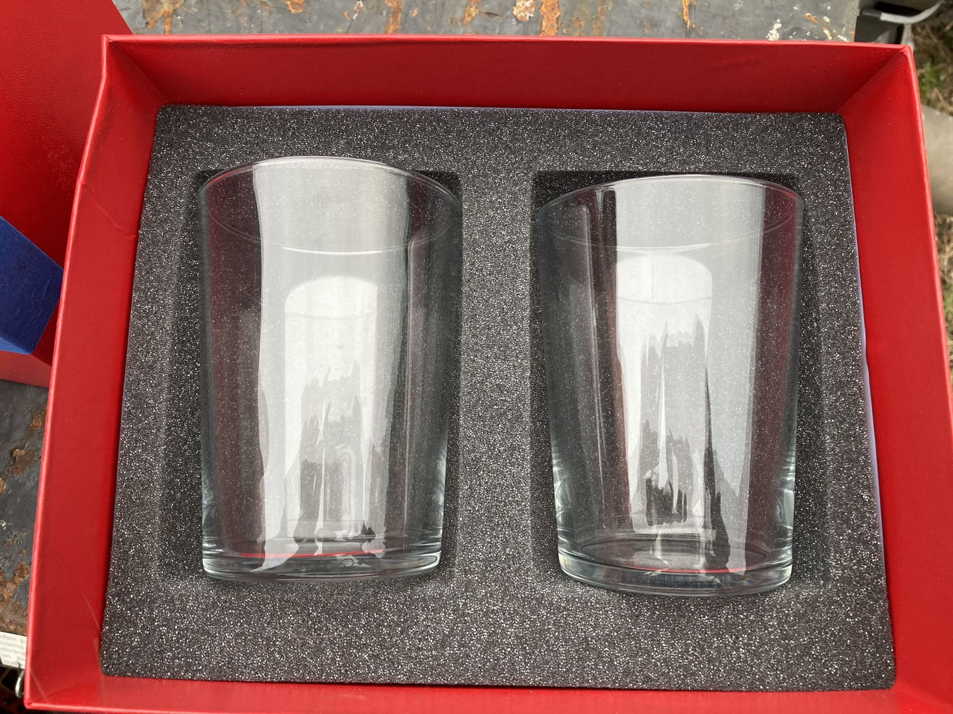 Baccarat glass cups