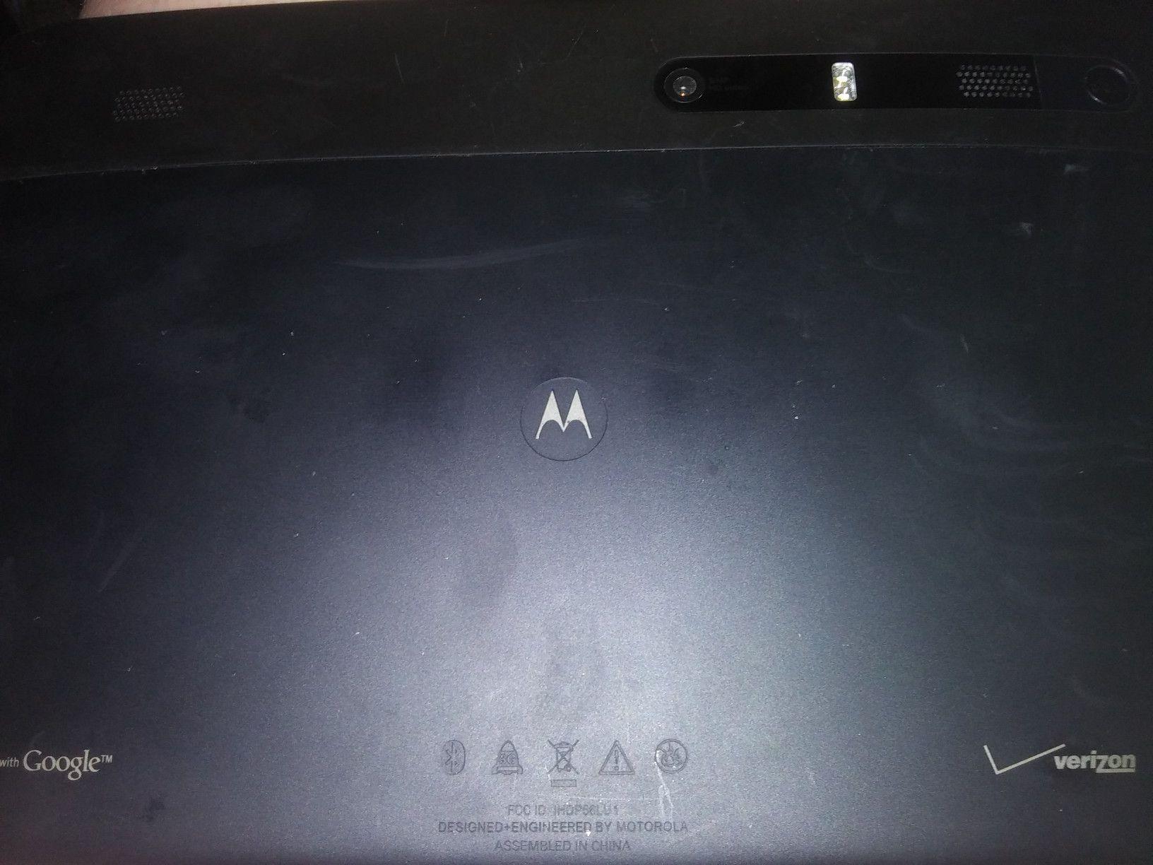 Motorola Verizon tablet