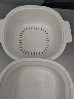 Rubbermaid Microwave Cookware 3 Pieces Set. Thumbnail