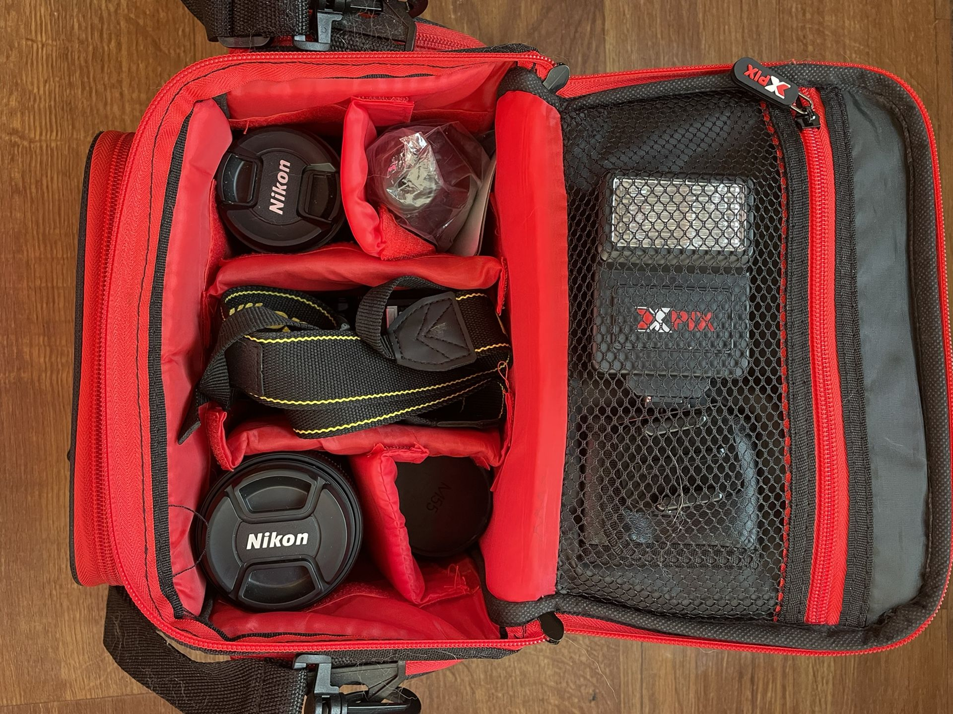 Nikon D3500 With Lenses And Accessories