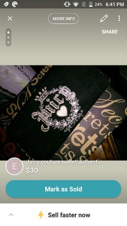 Juicy couture wallet Thumbnail