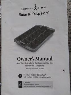 Copper chef bake and crisp pan Thumbnail
