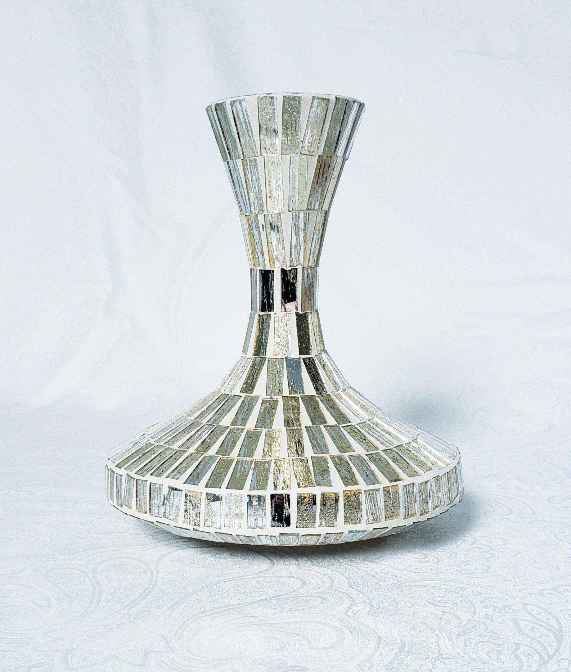Golden Glass Vase