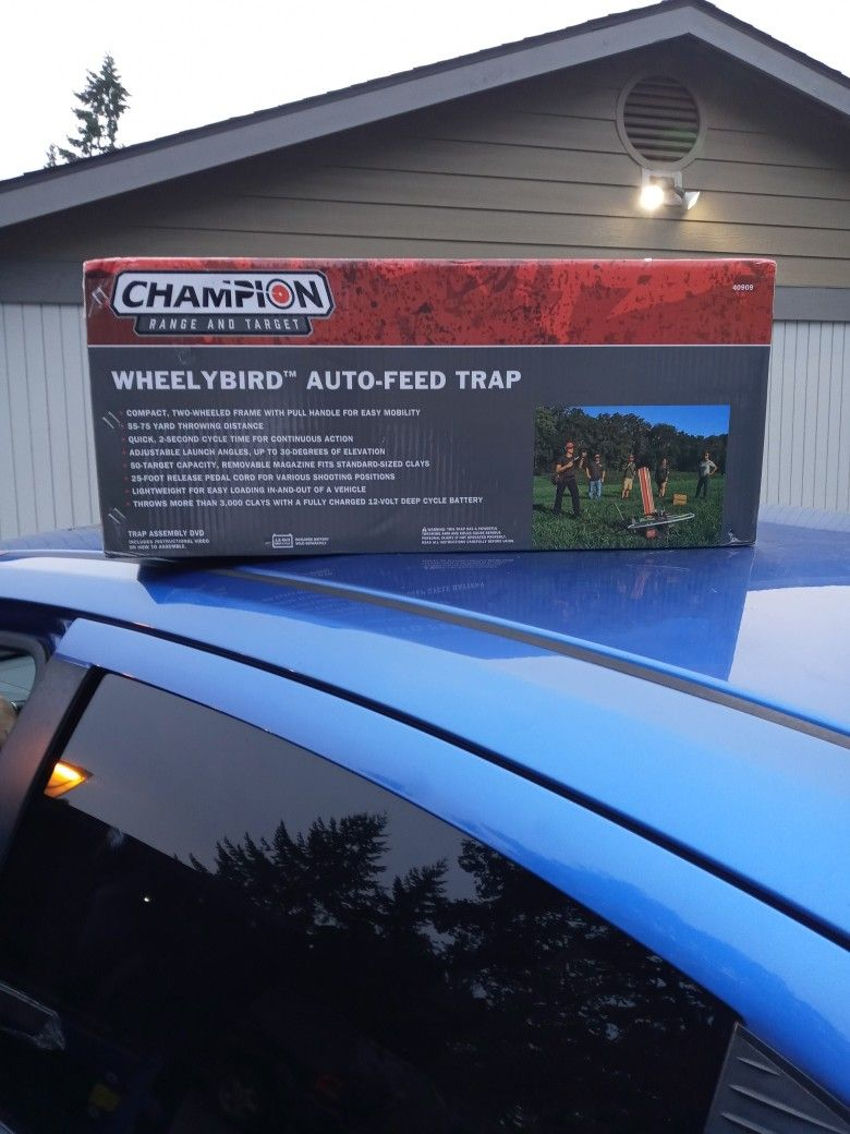 Champion Wheely Bird Auto-Feed Trap $75 Right Now