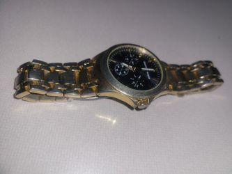 Geoffrey Beene Gold Plate Watch Needs Battery Thumbnail