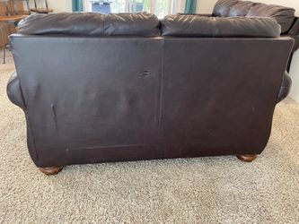 Ashley Furniture Leather Couch Set  Thumbnail