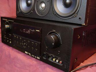 Marantz AV receiver, 3 Hdmi, inputs, surround.. Thumbnail