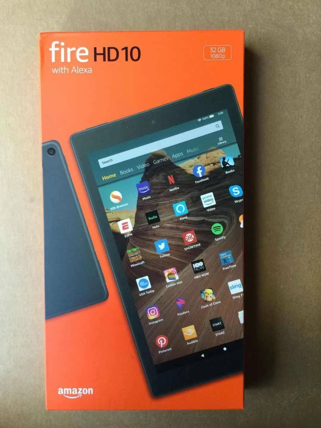 """Brand New Amazon Kindle Fire HD 10"""" 32GB Tablet"""