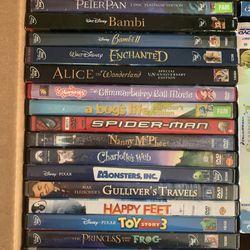 Disney Classic DVD's 30+ Titles Thumbnail