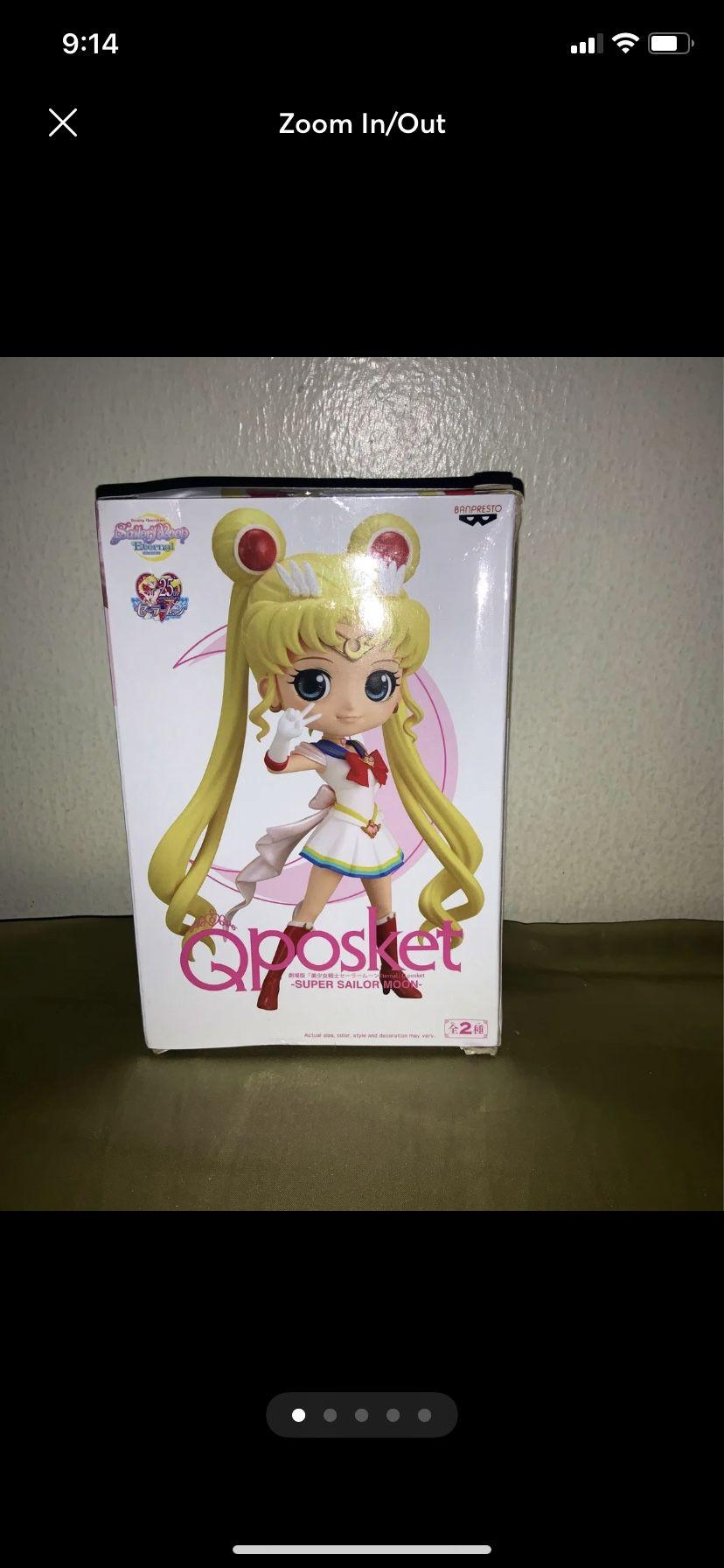 Qposket Sailor Moon Moon