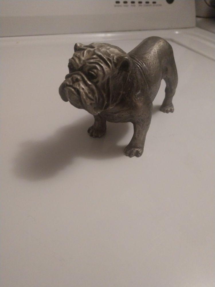 Hudson pewter Phillip kraczolaski bulldog 1970