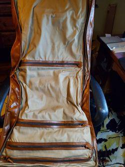 Vintage 1970s Tumi Leather Garment Bag Thumbnail