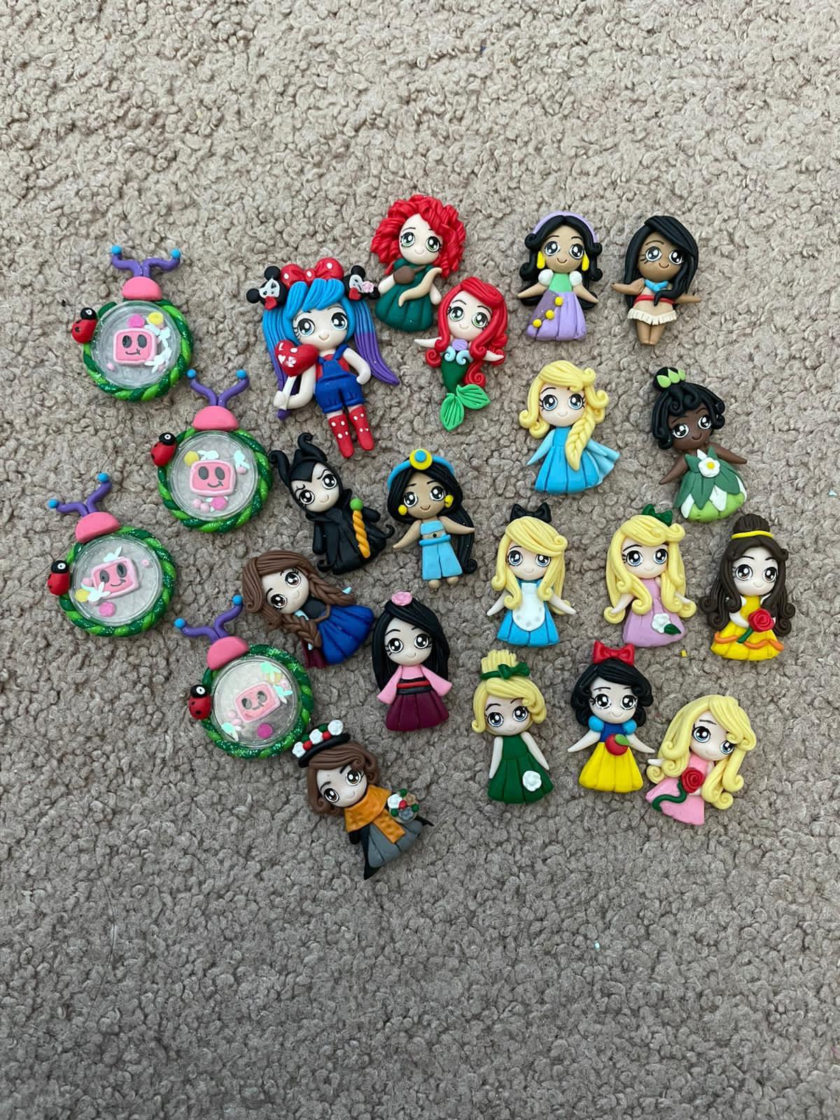 Princesses Clay