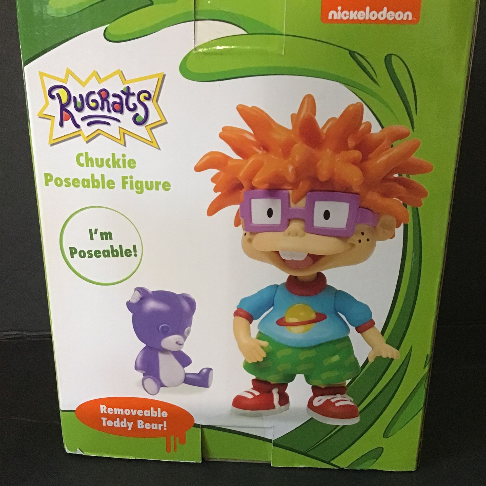 Nickelodeon Just Play - Rugrats Chuckie Collectible Figure (Brand New)