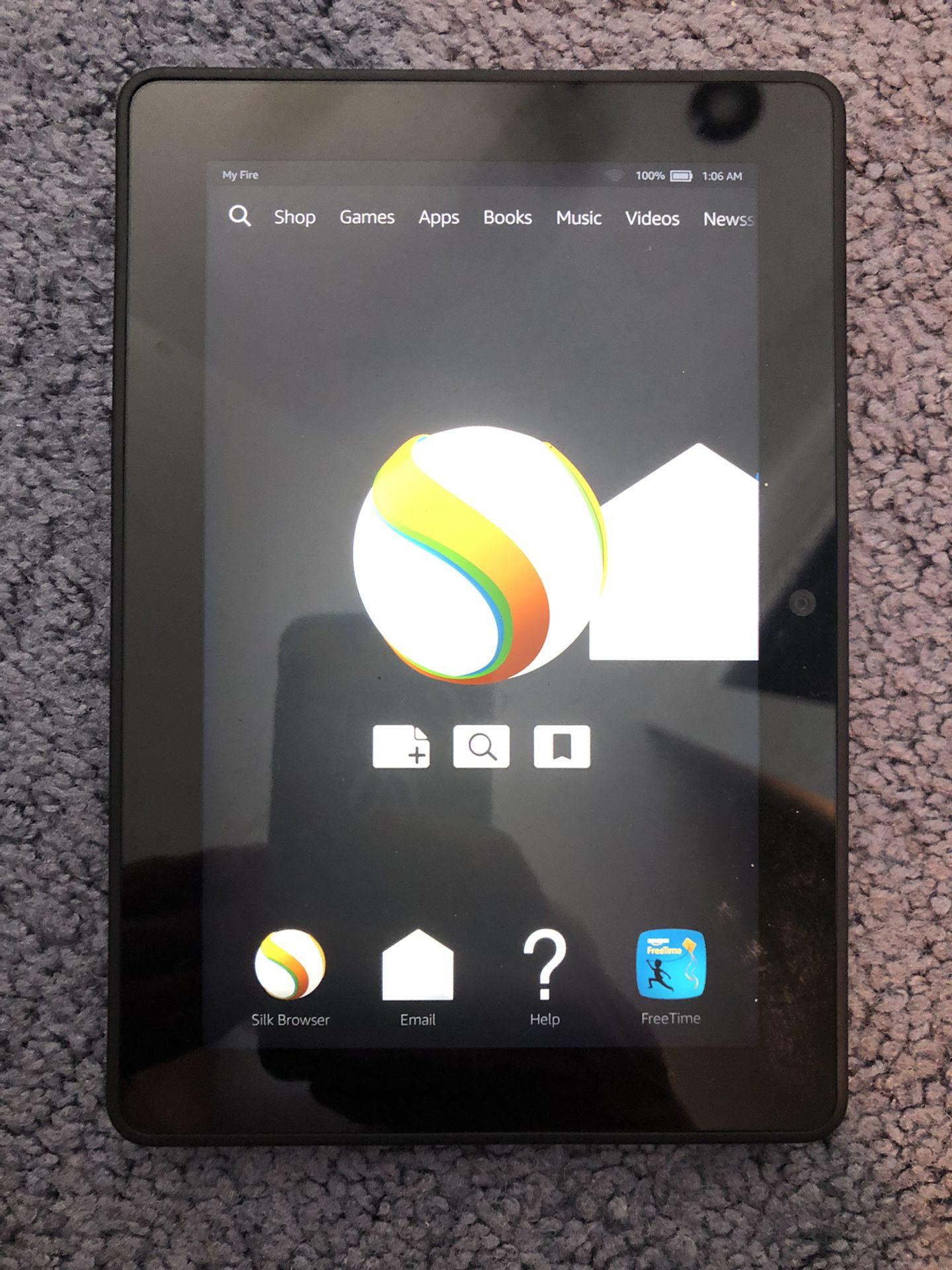 Amazon Fire tablet