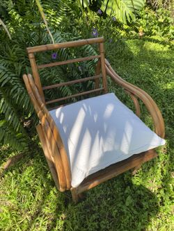 Vintage Bamboo Chair Thumbnail