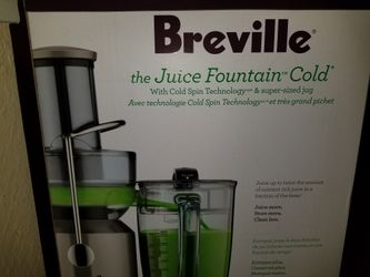 Breville Juicer Juice Fountain Brand New Never Used Thumbnail
