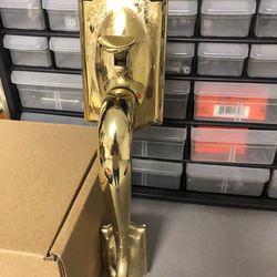 Brass Door Handle  Thumbnail