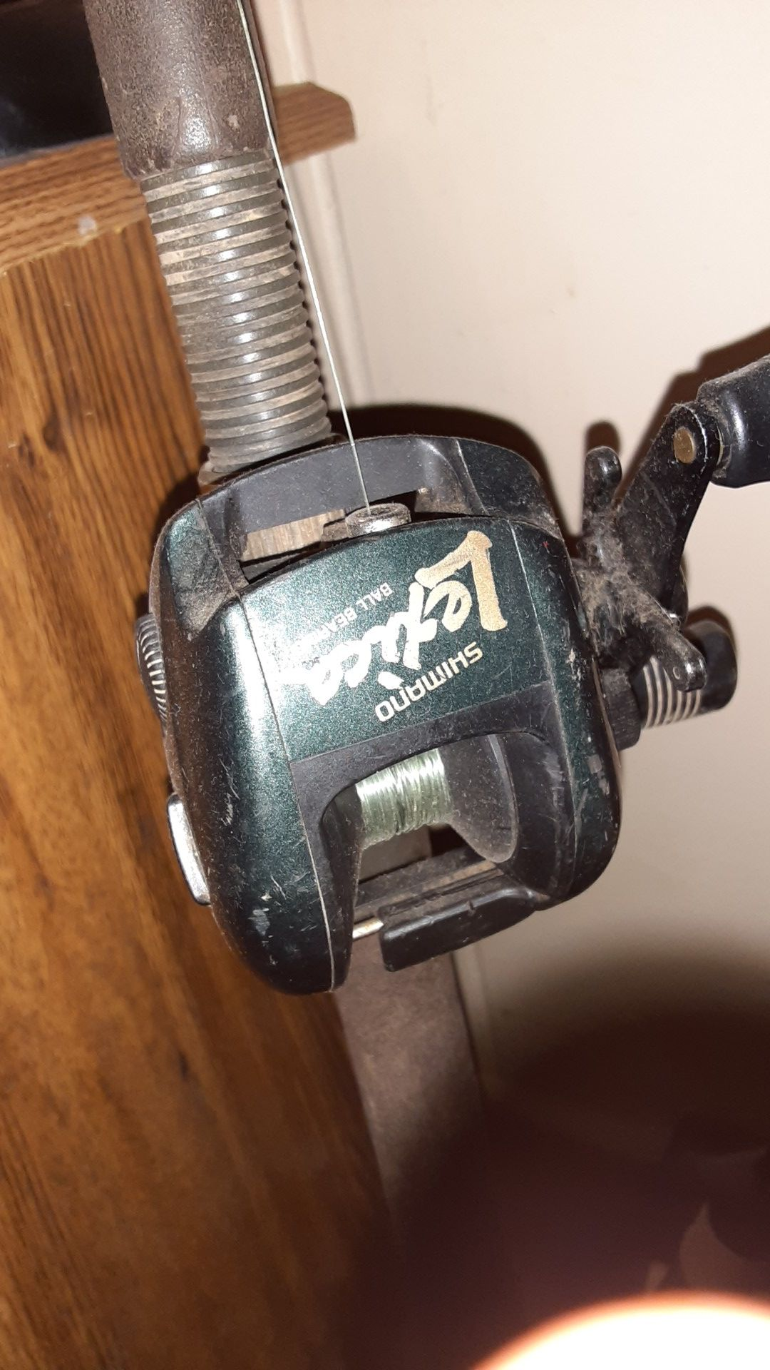 Shimano Lexica Rod and Reel