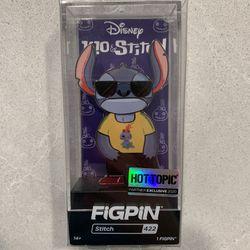 Stitch Scrump Shirt FiGPiN Limited Edition LE1440 Hot Topic Exclusive 422 Lilo Disney Thumbnail