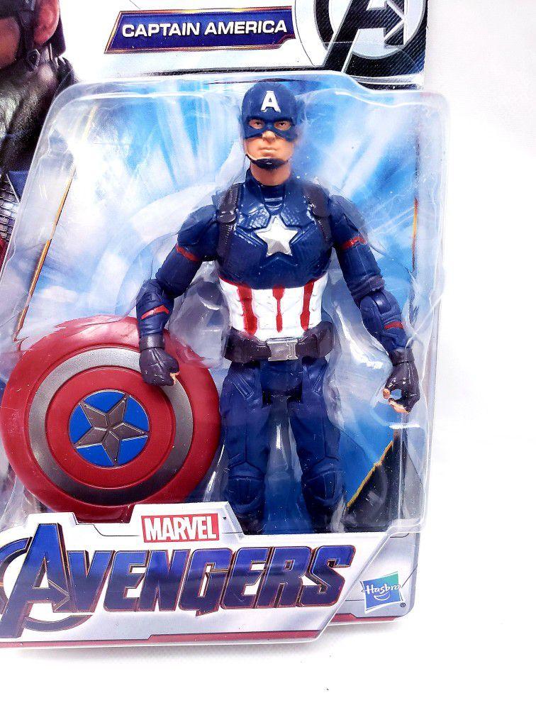 Hasbro Marvel Avengers CAPTAIN AMERICA 6 Inch Action Figure NEW