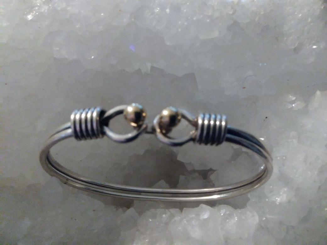 Tiffany & Co. bangle bracelet 925 silver 750 gold