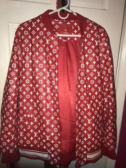 Authentic Louis Vuitton & Supreme jacket Thumbnail