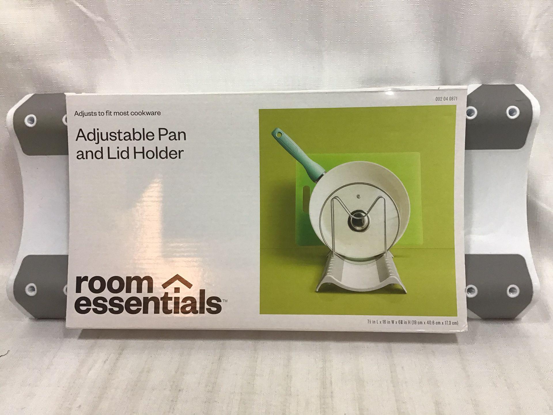 Cookware Storage Organizer - Clear - Room Essentials, White