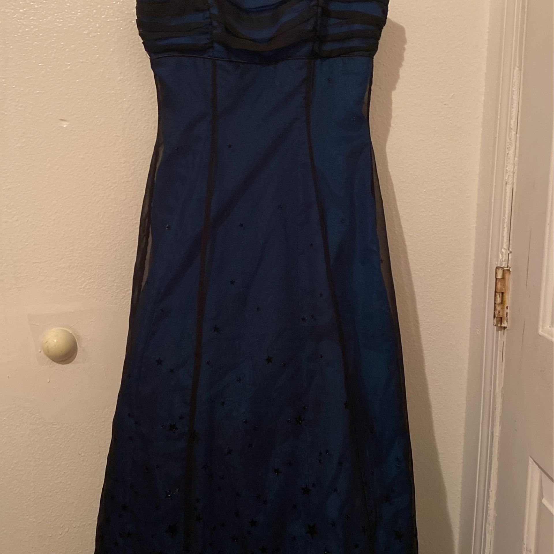 """Stunning Blue A Line Ball gown Prom Dress """"starry Eyed"""""""