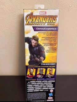 "Marvel Infinity War Captain America-12"" Thumbnail"