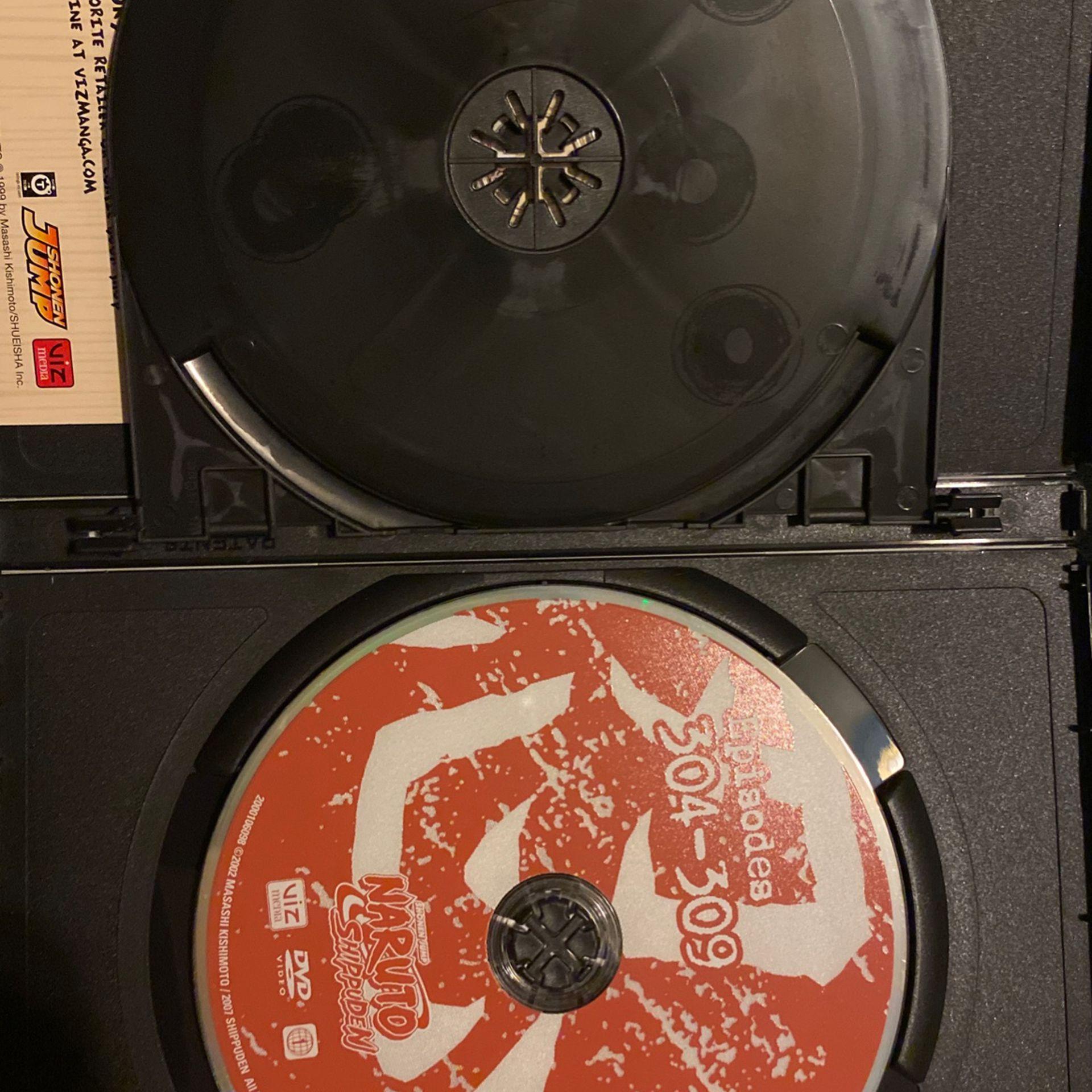 NARUTO SHIPPUDEN (24&25) 4 DISCS SET